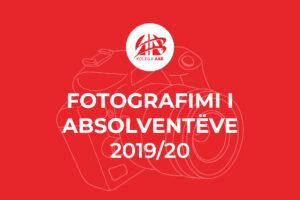 Fotografimi i Absolventeve 2019/20, Per studentet e Kolegjit AAB