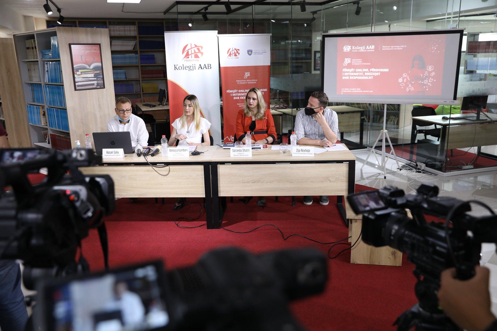 Youtube dhe Rrjetet Sociale, Kolegji AAB - Konferencë