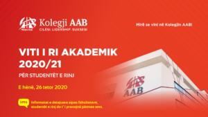 Viti i ri akademik 2020/21